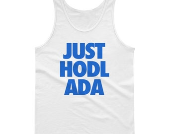 JUST HODL ADA Tank Top