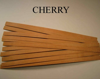 DOLLHOUSE FLOORBOARDS ,CHERRY these boards are also available in six different hardwood types