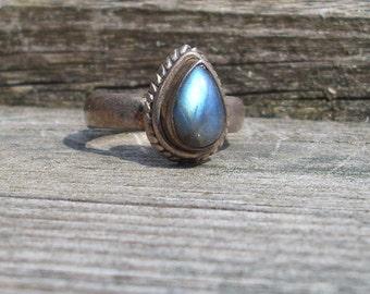 Tears from Heaven Labradorite Ring    R303