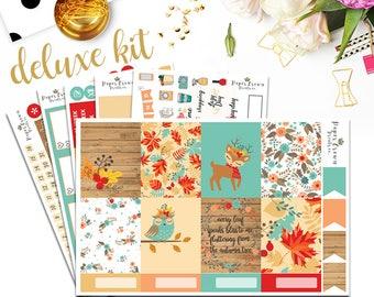 OH DEER Deluxe Kit Planner StickersPlanner Stickers for use with Erin Condren Planner/Weekly Planner Sticker Kit/Sticker Set