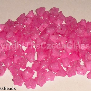 12pcs PRESSED BEADS FLOWERS 6x5mm 02010/1010