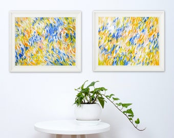 Set of 2 Abstract Art Prints - Abstract Art Printable - Instant Download Prints - Contemporary Art - Modern Home Decor - 8x10 11x14