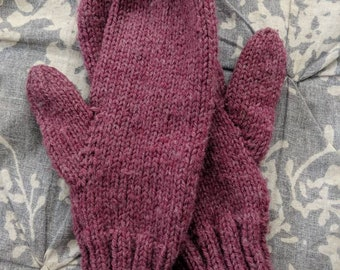 Simple Mittens (Made to order)
