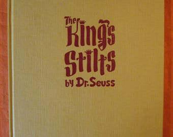 SIGNED - The King's Stilts by Dr. Seuss