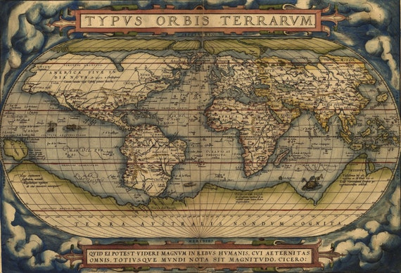 Old world map world wall map vintage maps old world 93 gumiabroncs Images