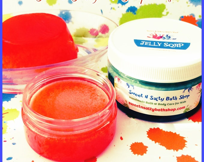 Smelly Jelly Soap/Cherry/Strawberry/Watermelon and More!