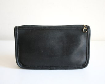 Black Coach Wallet Makeup Bag