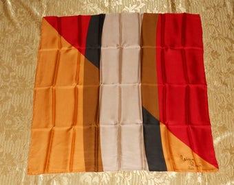 Genuine vintage Nina Ricci Paris scarf - silk