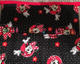 Minnie Mouse childs Crayon holder Apron