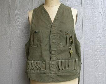 JC HIGGINS HUNTING Vintage 40s Vest