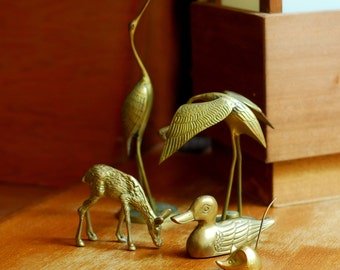 vintage brass animal instant collection