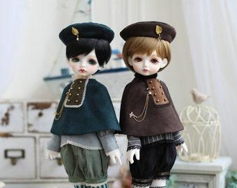 Nigo---BJD clothes = Leaves =for Holiday Child