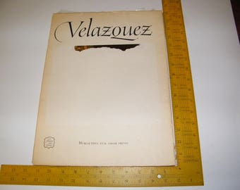 Book of Diego Velazquez Art Prints for Framing