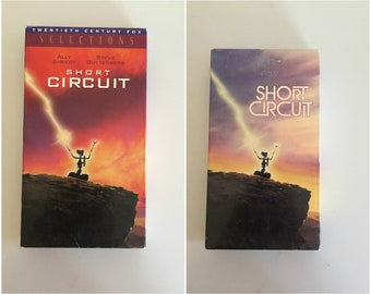 Lot of 2 Short Circuit 1 & 2 (VHS) Ally Sheedy