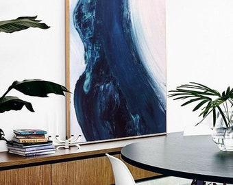 Painting Ocean Wave, Ocean Art, Waves Acrylic, Painting on Canvas, Water Ocean art, Art wall, Living room Art, Home decor, Large , Artwork