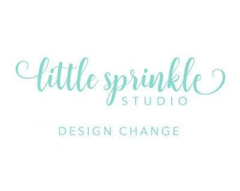Small Design Change to any Little Sprinkle Studio Listing