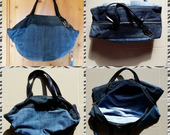 Jeans Bag Foldbag Denim Hobobag Purse