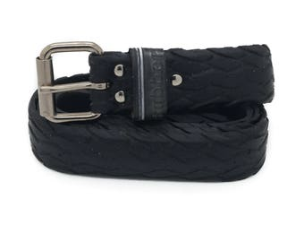 """Bicycle Tire Belt """"RUBBER"""" (upcycled vegan handmade) by tirebelt.com - Fall Collection 2016"""