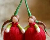 Cherries, Wool fairy tale...
