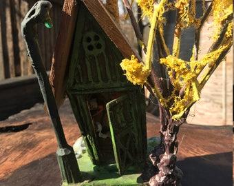 Boardwalk Miniature Outhouse