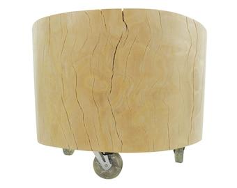 Tree trunk table beech, Ø 60 cm
