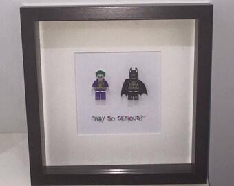 Why so serious? Batman and joker