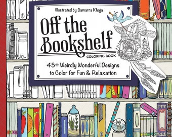 Coloring Book - Off the Bookshelf  By Samarra Khaja - # 20333