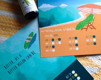 Ampalaya Diabetic Blend + Moon Calendar