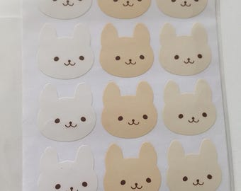 Kawaii   Rabbit   Spring   Easter   Bunny Stickers