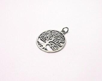 Beautiful dainty Tree of life silver 925 jewelry pendant tree of life