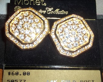Monet Premiere Collections earrings....
