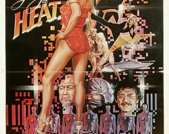 Spring Sales Event: Angel of H.E.A.T. Movie Poster (1983) Action/Sci-Fi