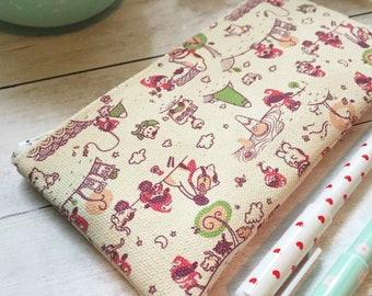 Mineko's Night Market Small Zipper Pouch