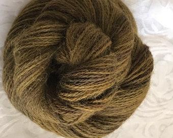 "215yds DKweight Hand Dyed 100% Alpaca yarn 50g -  ""Loden"""