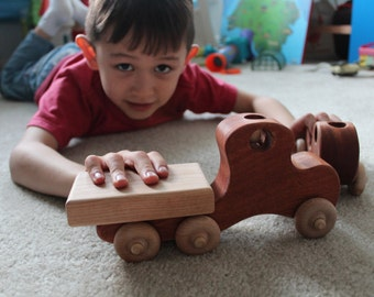 Gander and Goose Wooden Toy Truck