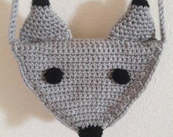 Silver Fox Purse
