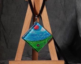 Balance / pendant original painting