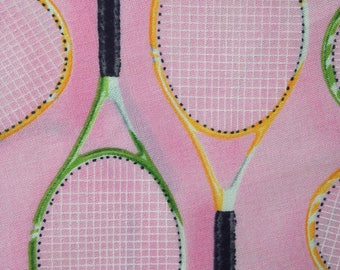 Perfectly pink girls tennis fabric