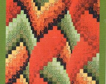 Dawn Lightning Bargello Quilt Pattern