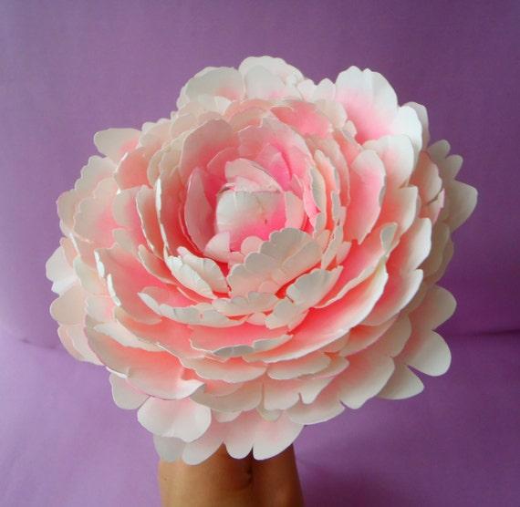 Peony paper flower template geccetackletarts peony paper flower template mightylinksfo