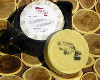 The Hour Beer Soap Made with Dogfish Head 60 Minute IPA