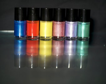 5 Free Designer Nail Polish Lacquer First Collection