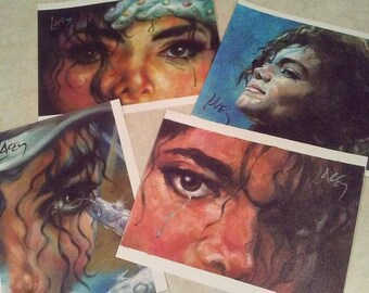 Canvas Prints / Four MJ Prints
