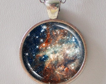 Constellation Pendant Necklace -30 Doradus- Galaxy Series