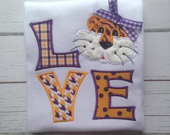 Girl Tiger Love Shirt