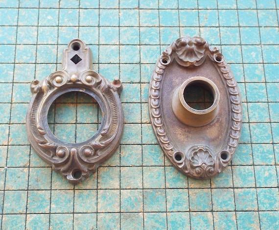 Marvelous Brass Door Knob Rosette, Escutcheon Plates, Lock Plate, Door Plate, Yu0026T  From SaltysPirateDen On Etsy Studio