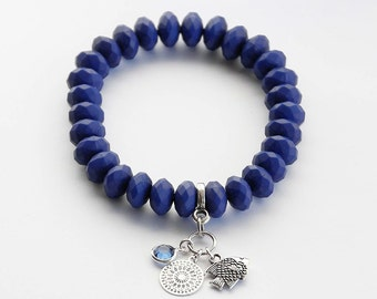 Bracelet in dark blue