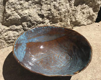 Large Unique Ceramic Bowl