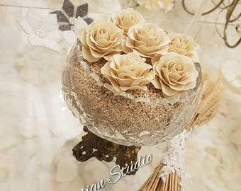 Sofreh aghd decorative bread