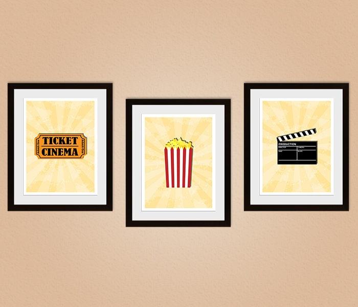 Modern Movie Wall Decor Images - Wall Art Design - leftofcentrist.com